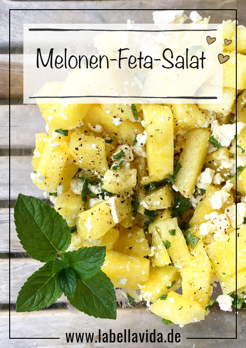 rezept melonen feta salat. Black Bedroom Furniture Sets. Home Design Ideas