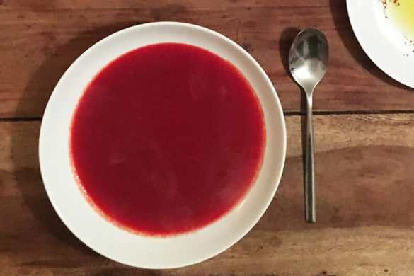 Rote Bete-Möhren-Suppe