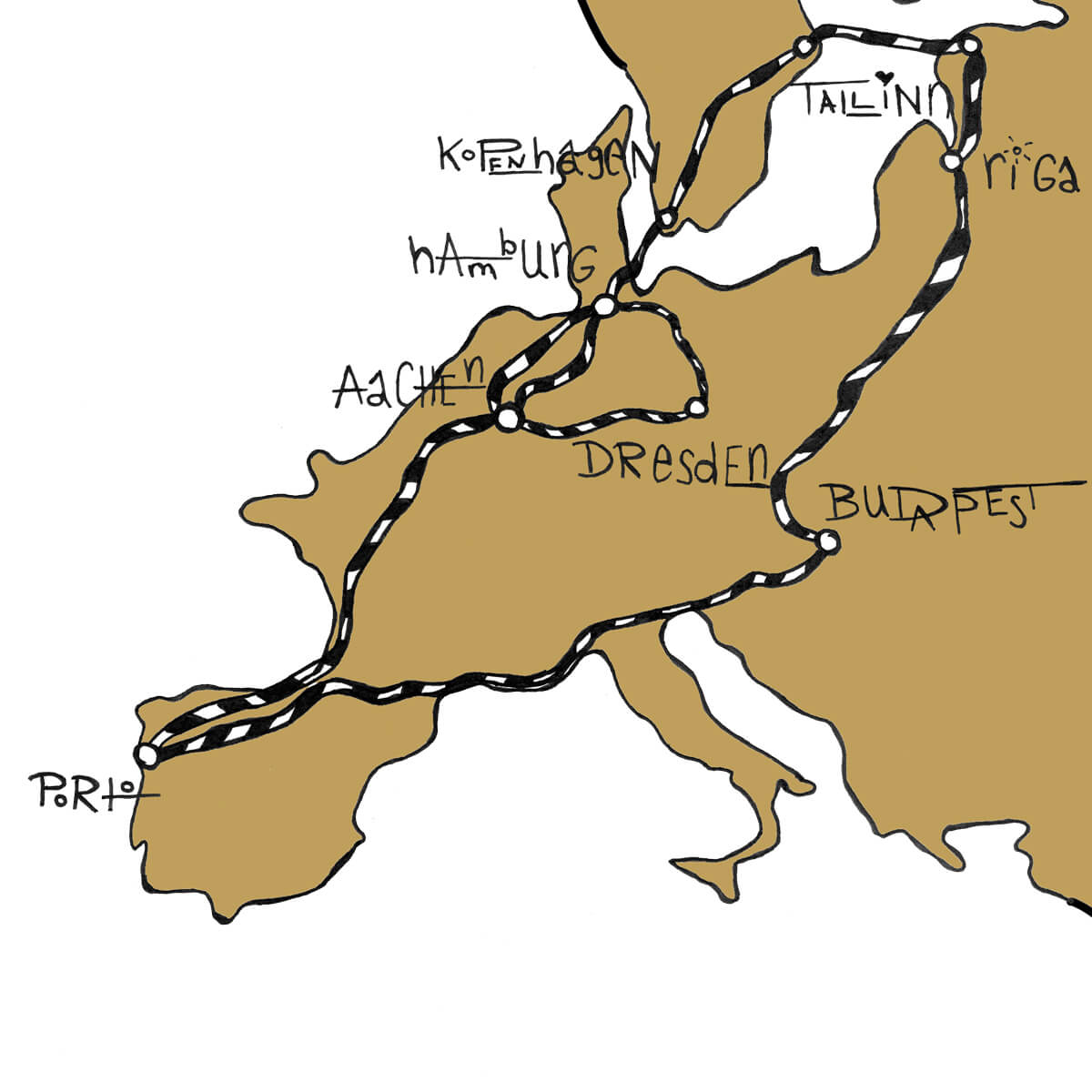 Europa Roadtrip