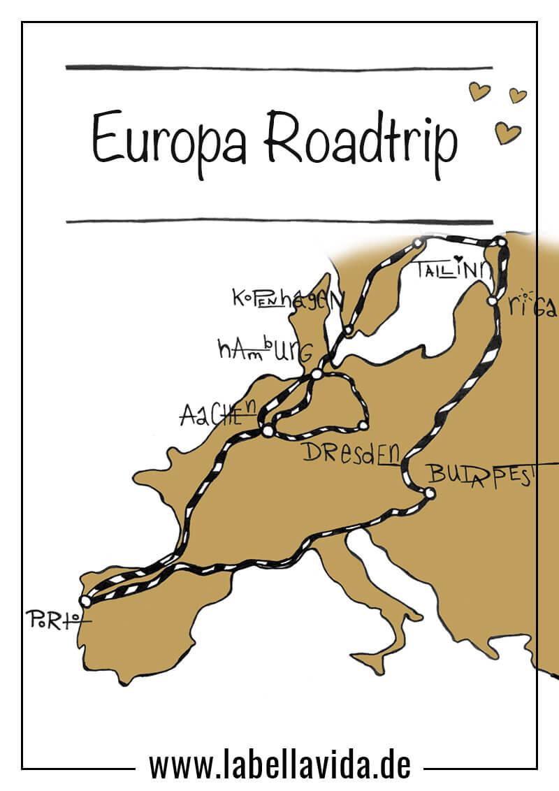 Pinterst Europatrip